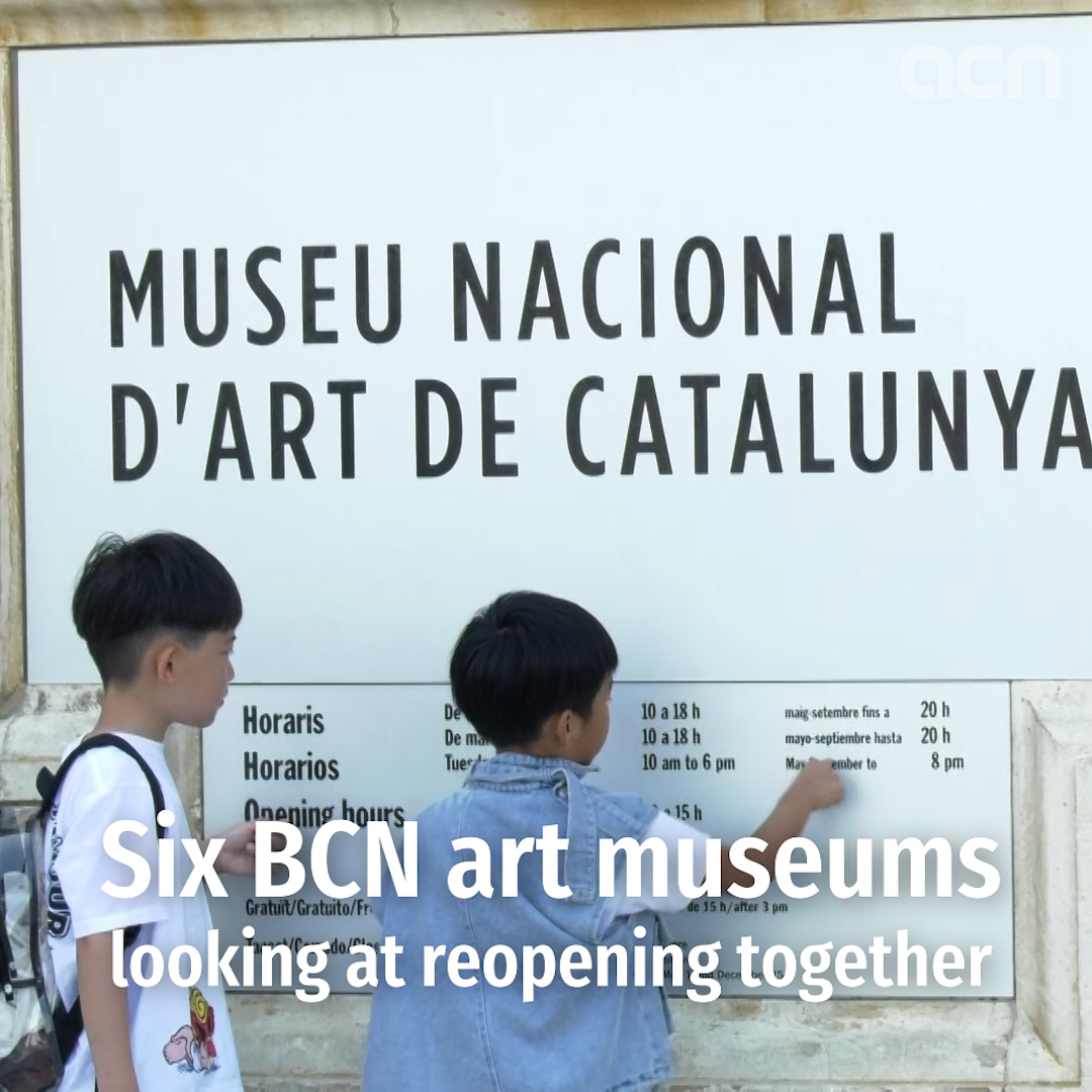 Barcelona's biggest museums study reopening together not before June