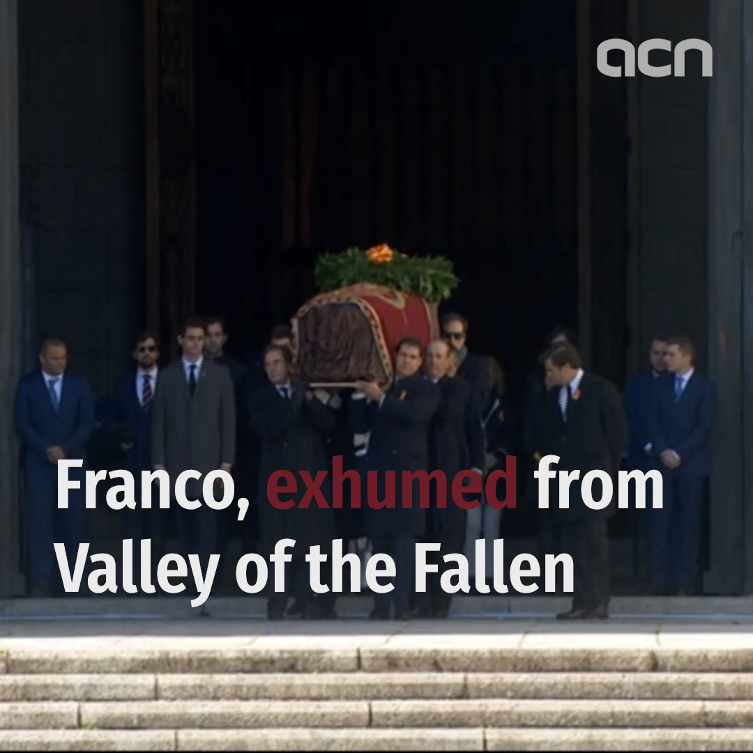 Body of Franco exhumed 40 years later