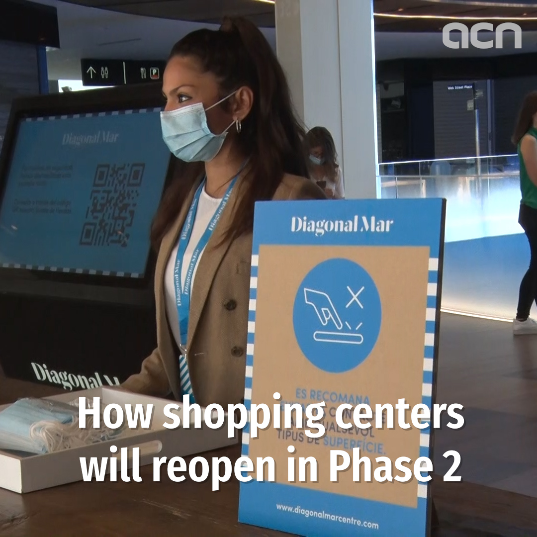 How shopping centers will reopen in Phase 2