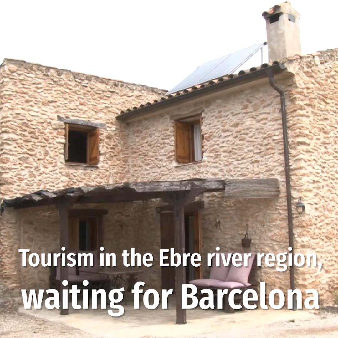 Tourism in the Ebre river region, waiting for Barcelona