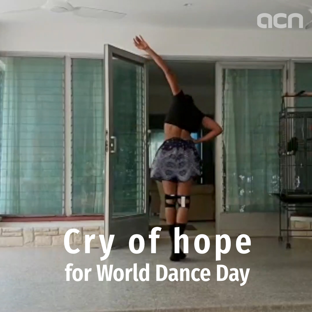 Cry of hope for World Dance Day