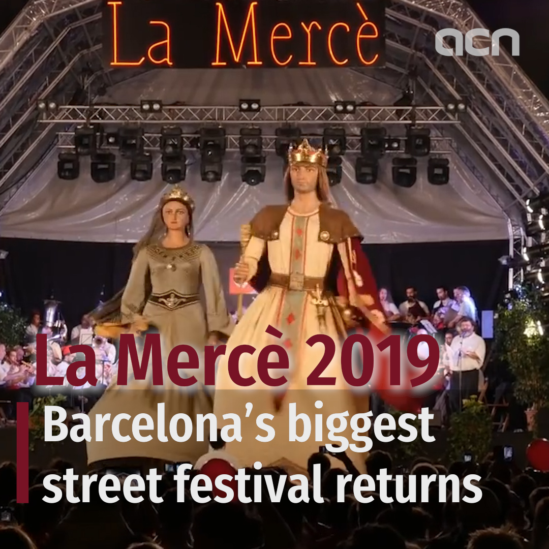 La Mercè 2019: Barcelona's biggest street festival returns