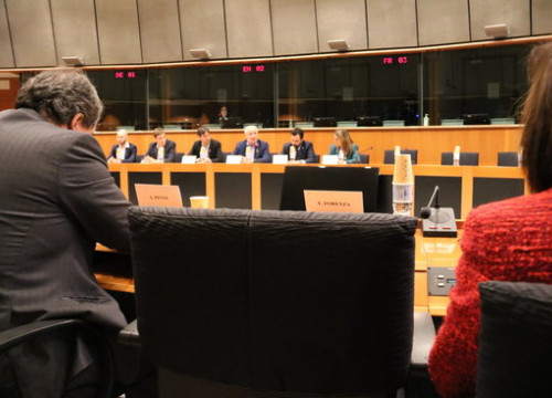 EU-Catalonia Dialogue Platform meets with MEPs on December 4 2018 (by Blanca Blay)