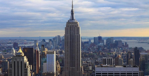 The emblematic Empire State Building in New York (by FC Barcelona)