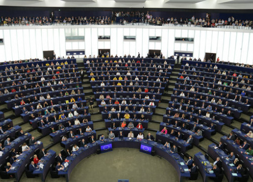 European Parliament session in Strasbourg on July 2, 2019 (by Natàlia Segura)