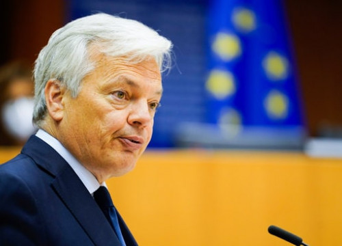 European justice commissioner Didier Reynders (Source: European Parliament)