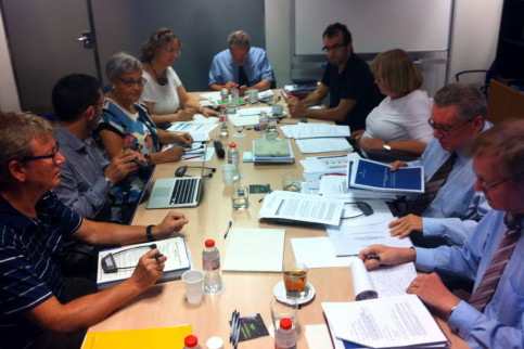 Image of a meeting of the European Charter for Regional or Minority Languages, in 2014 (by ACN)