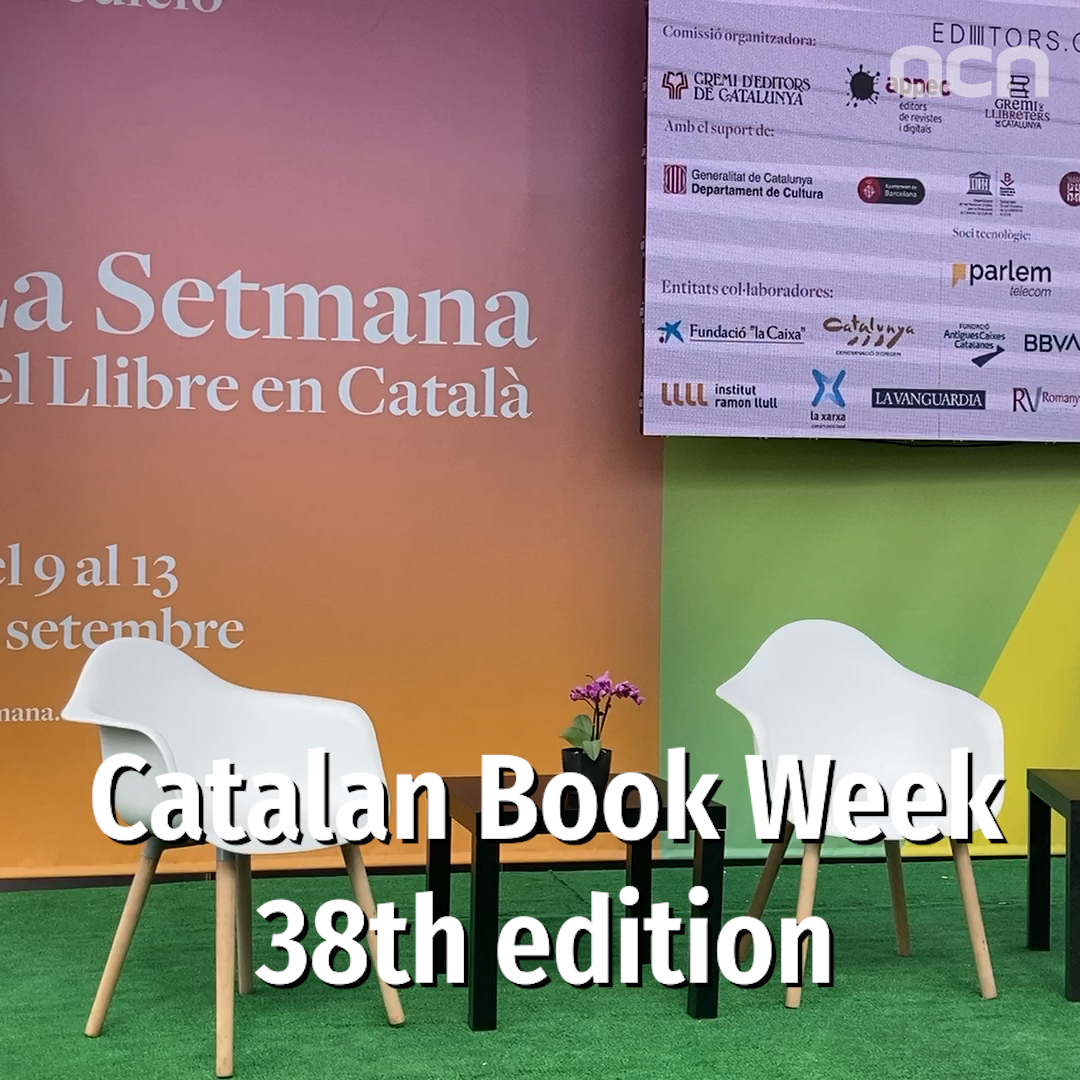 Catalan Book Week 38th edition
