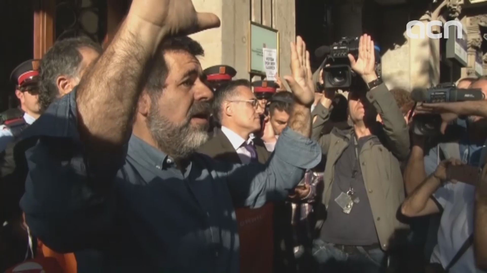 Civil society leader Jordi Sánchez demands to be released