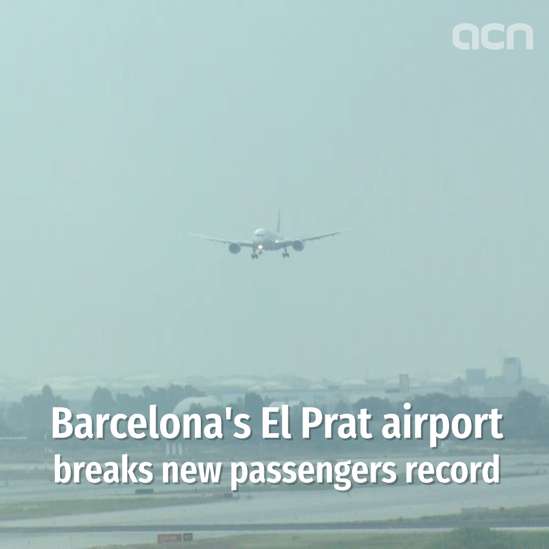 Barcelona airport saw a record 52.6 million passengers in 2019
