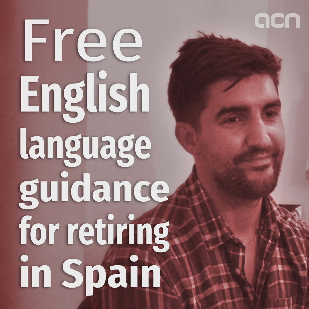 Free English language guidance for retiring in Spain