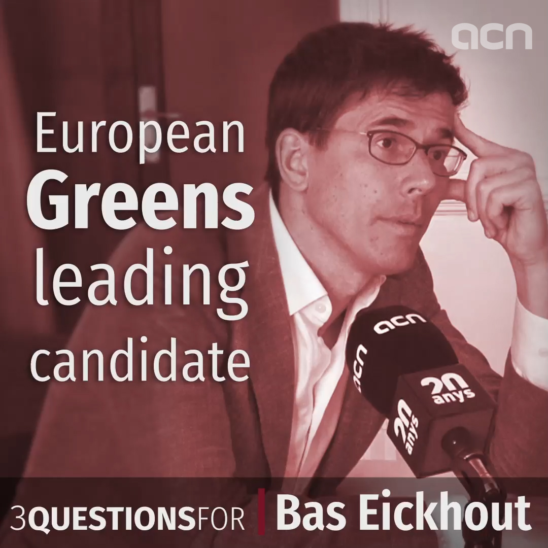 European Greens top candidate: Catalan trial 'politicized' and 'open dialogue' needed