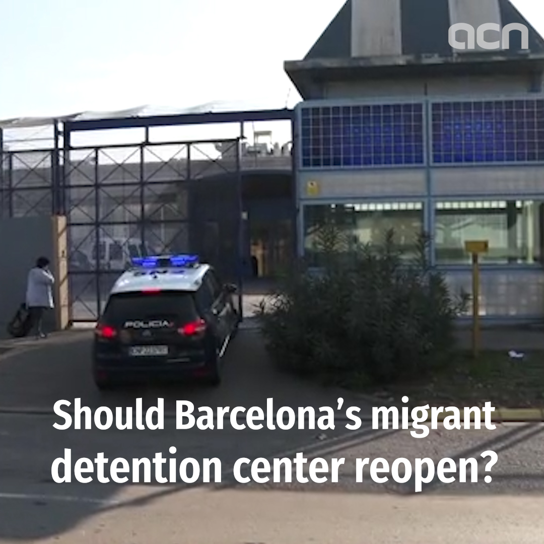 Should Barcelona's migrant detention center reopen?