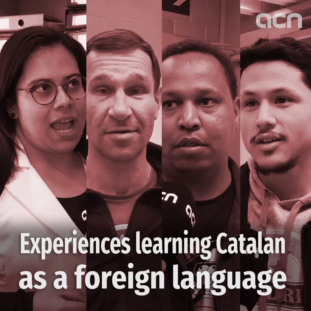 Experiences learning Catalan as a foreign language