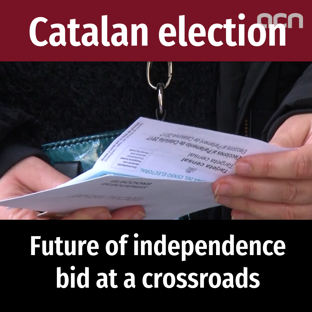 Catalan election: future of independence bid at a crossroads