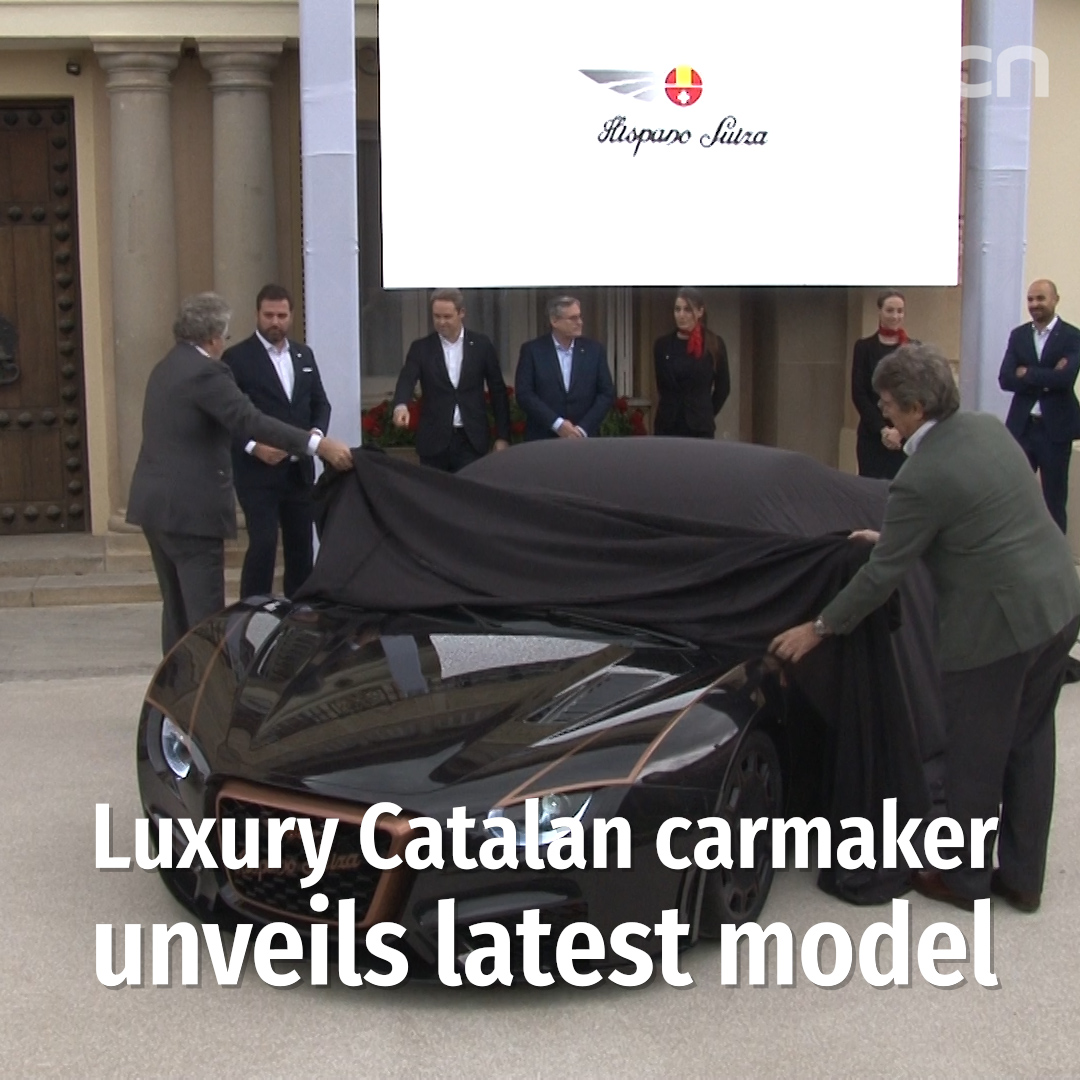 Luxury Catalan carmaker unveils latest model