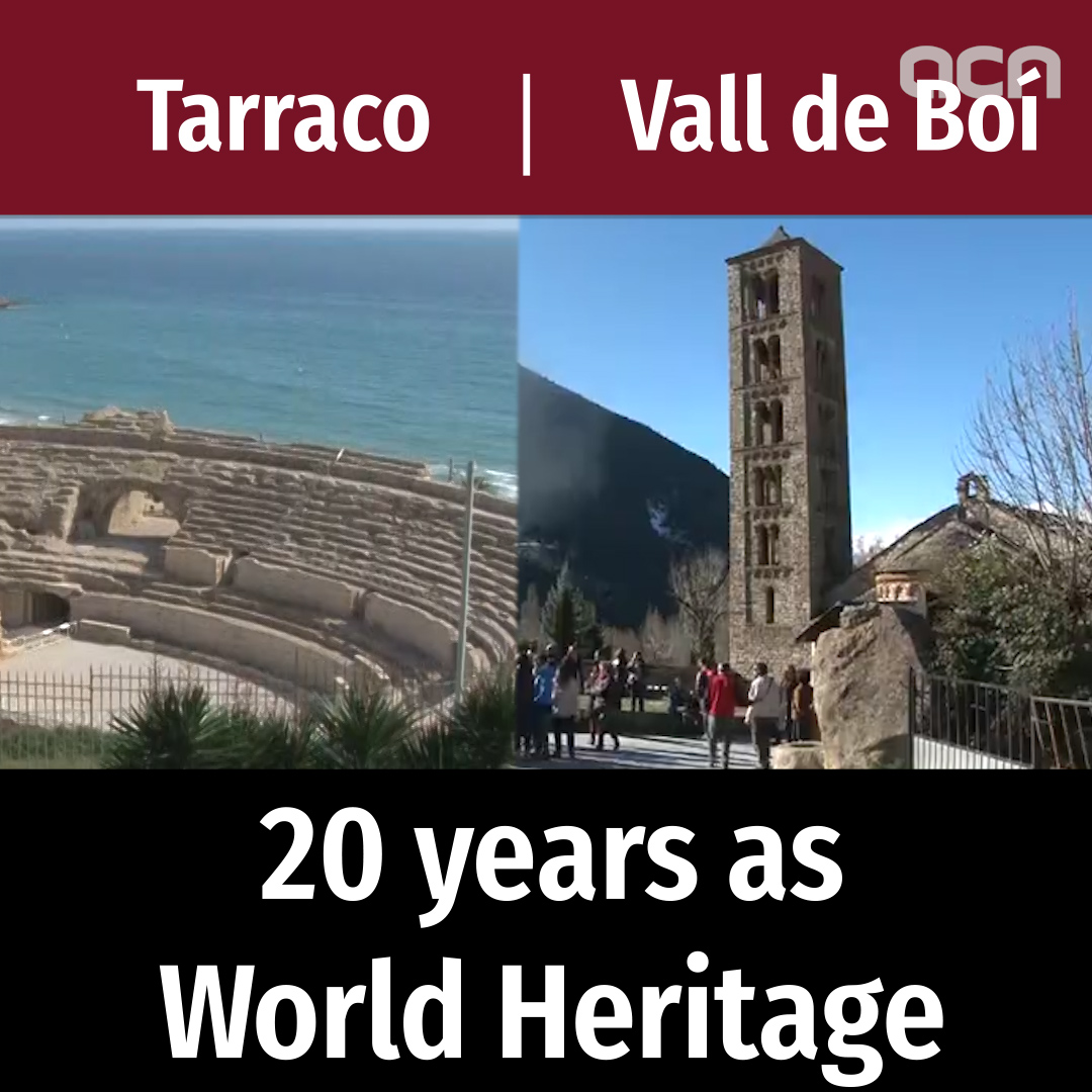20 years since some of Catalonia's most famous sites were recognised as World Heritage