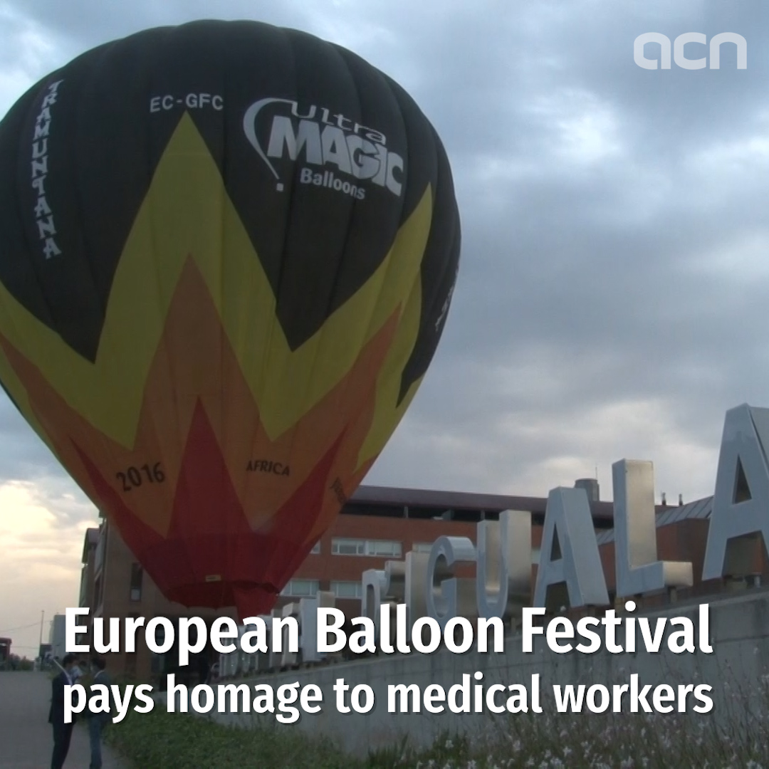 European Balloon Festival pays tribute to healthcare workers
