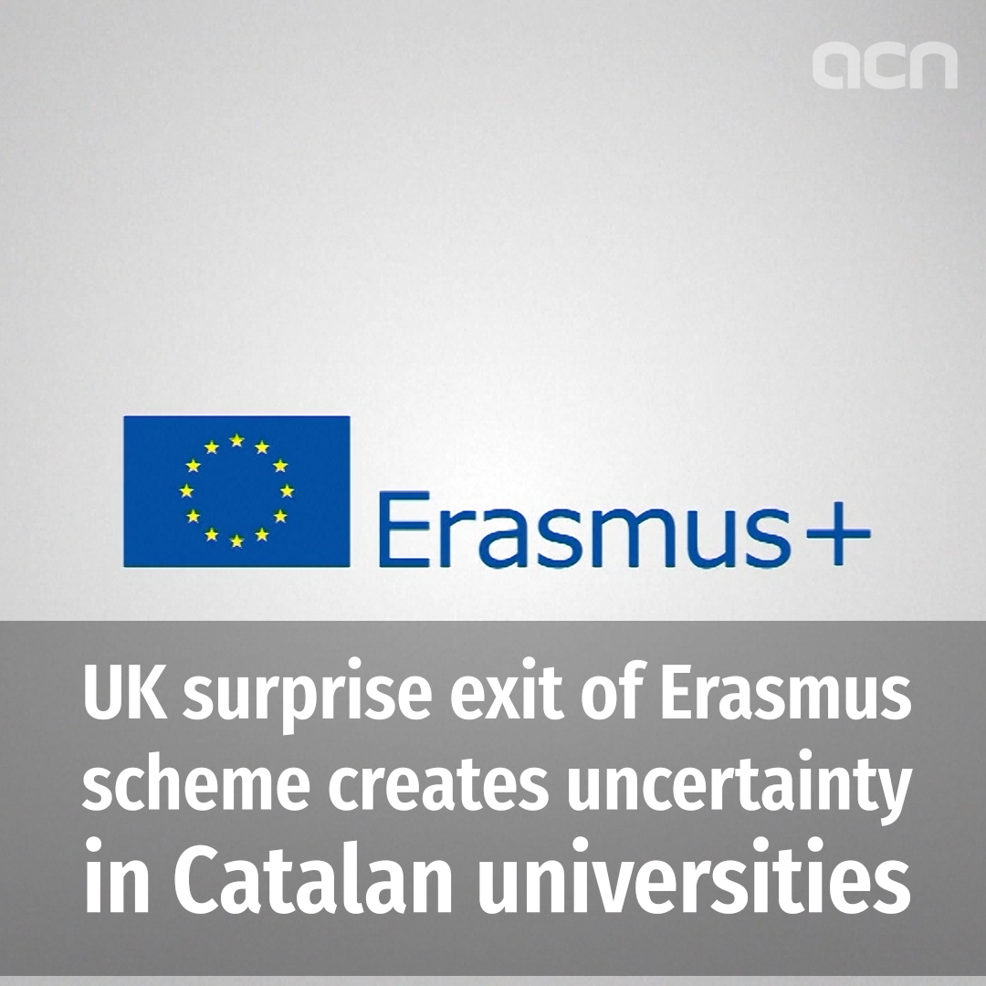 How will the UK's pull-out of Erasmus affect Catalan universities?
