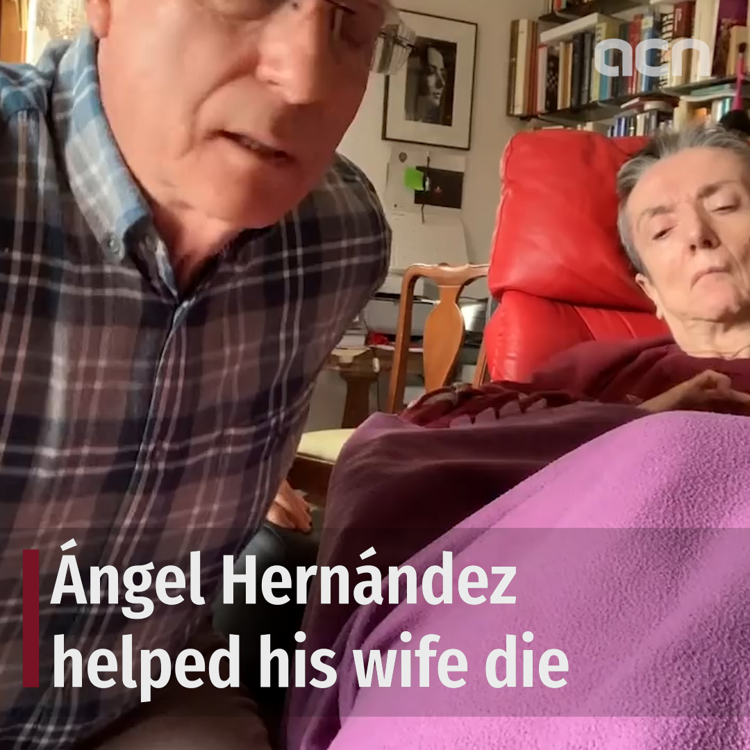 After helping his wife die, he's now pushing to decriminalize assisted suicide