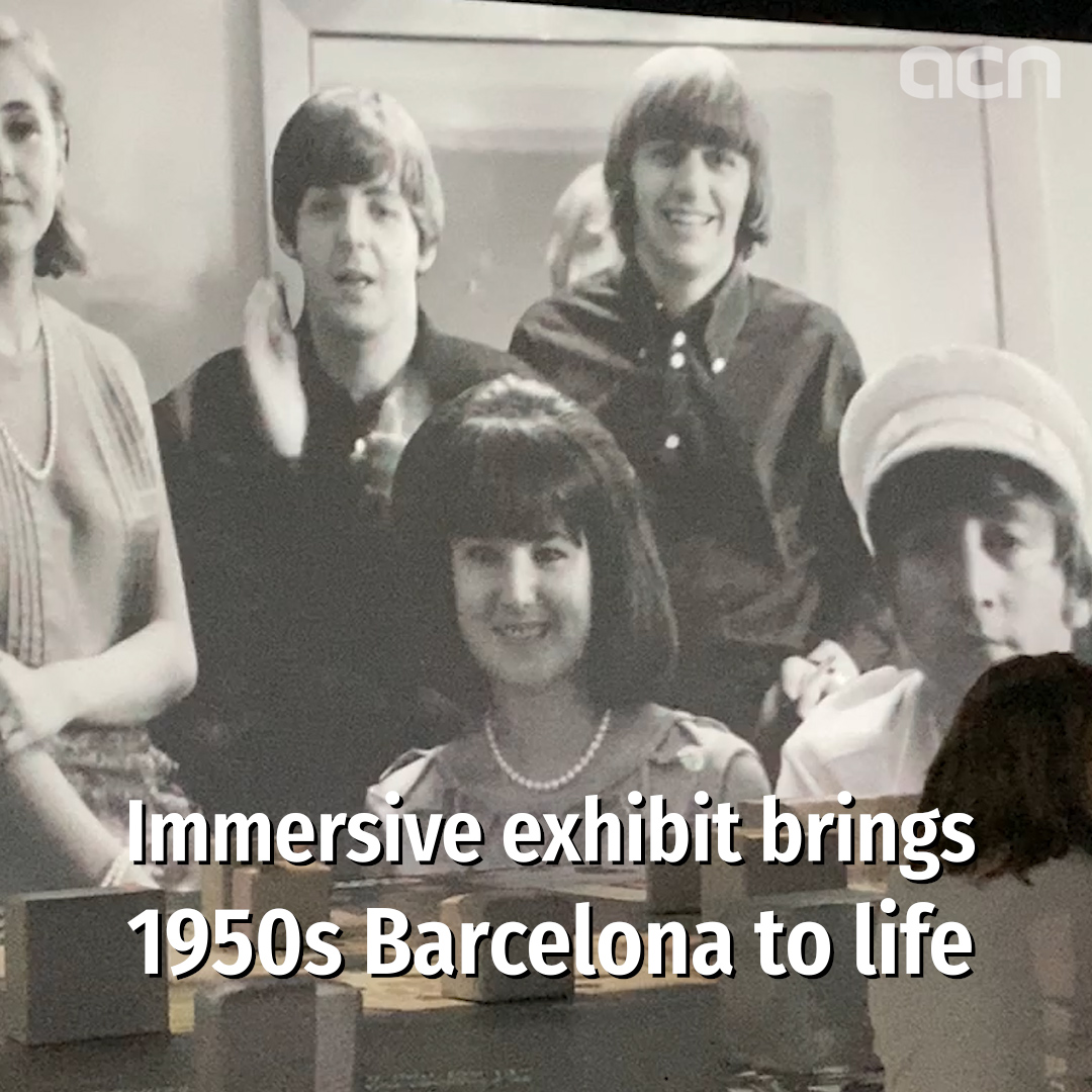 1950s and 60s Barcelona comes to life in new immersive exhibition