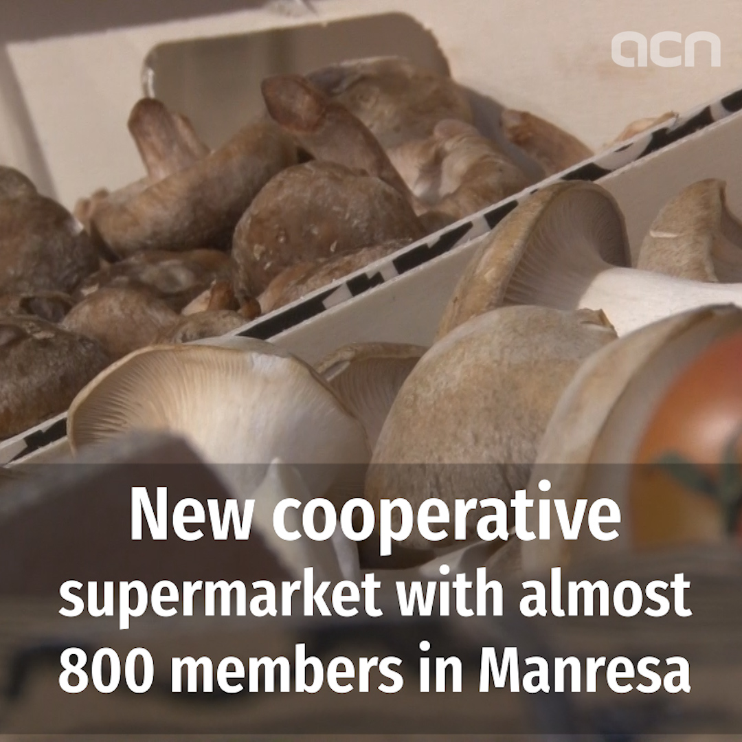 New cooperative supermarket with almost 800 members in Manresa