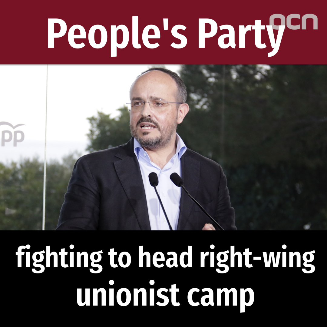 People's Party: fighting to top Catalonia's right-wing camp