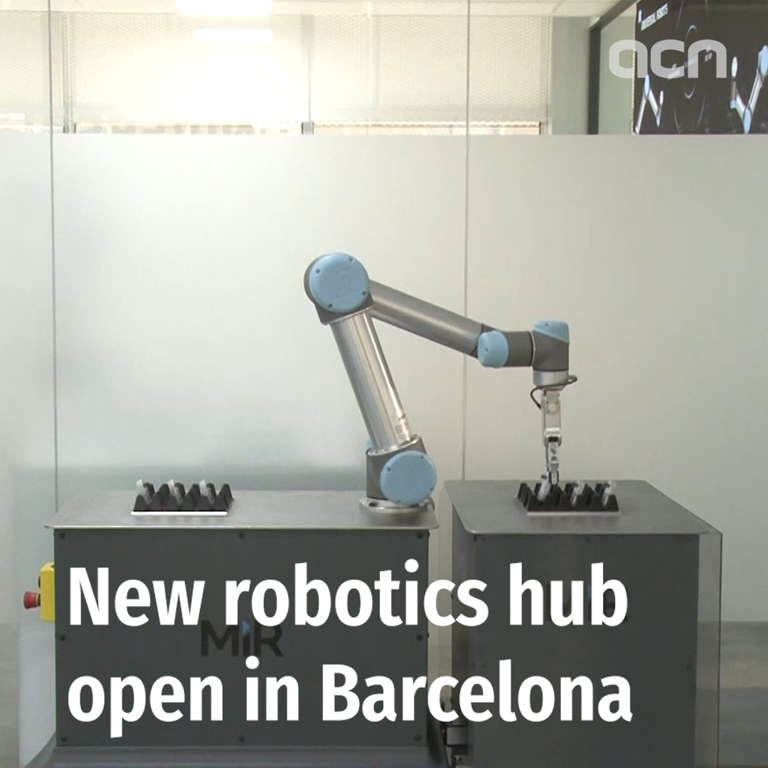 New robotics hub open in Barcelona