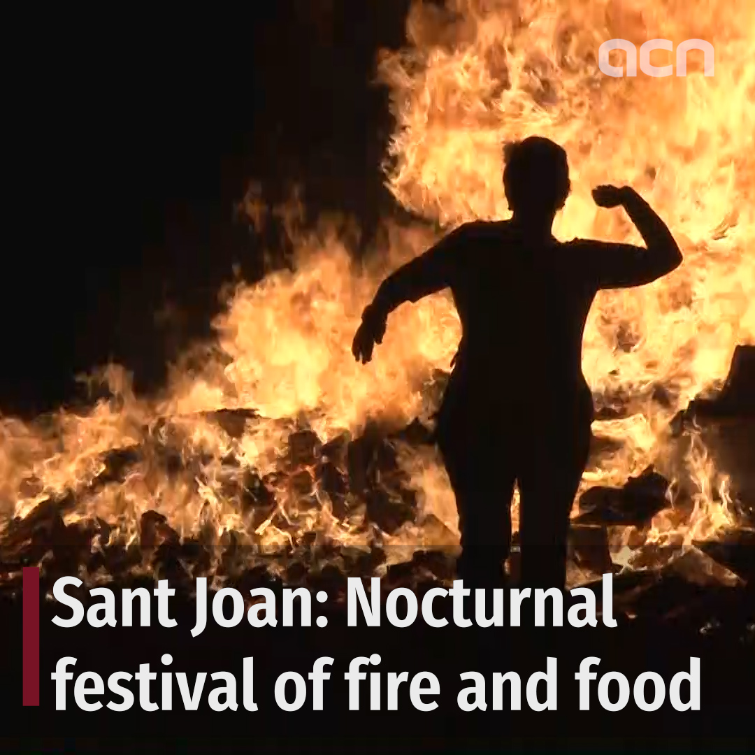 Sant Joan: Nocturnal festival of fire and food