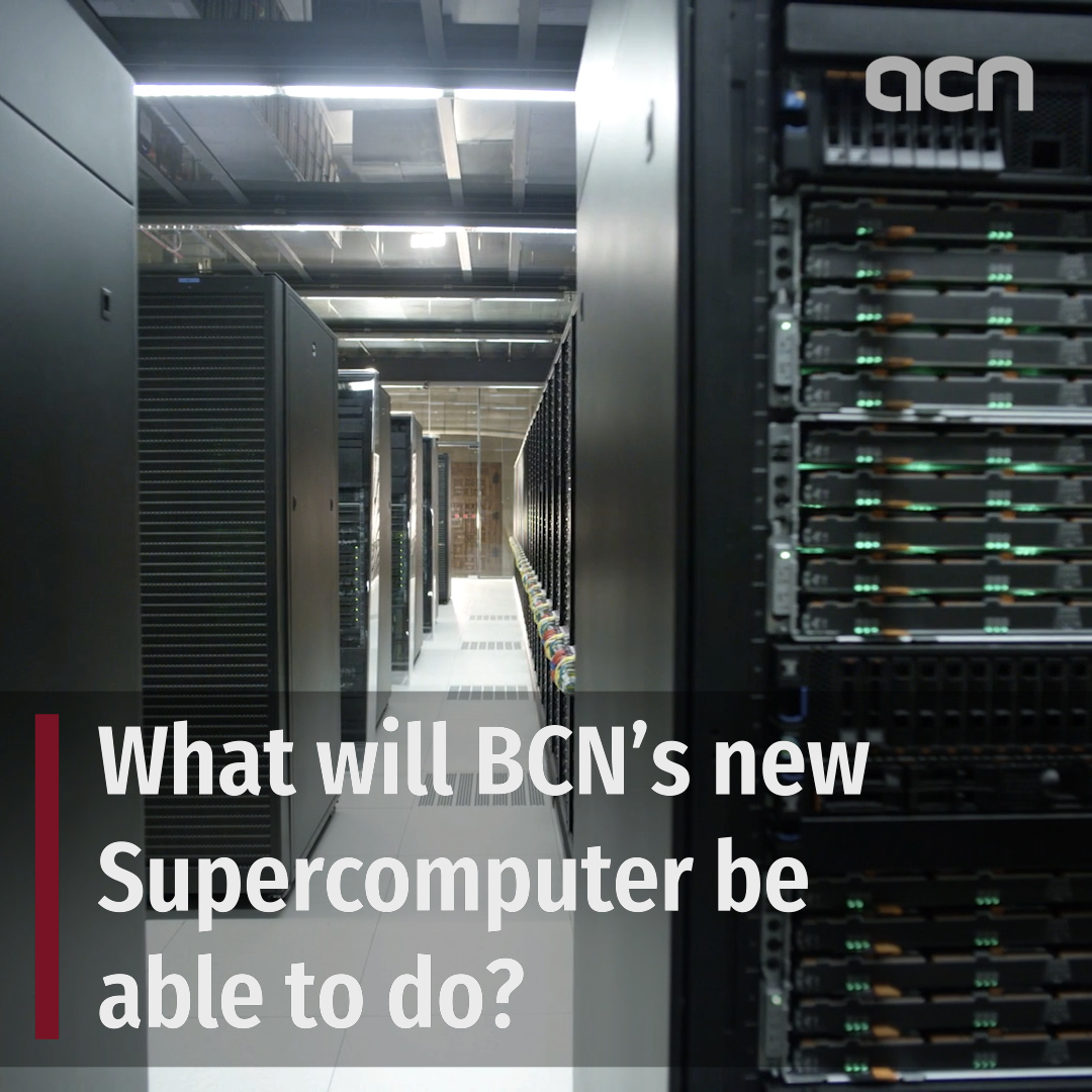 What will Barcelona's new Supercomputer be capable of and how will it be put to use?