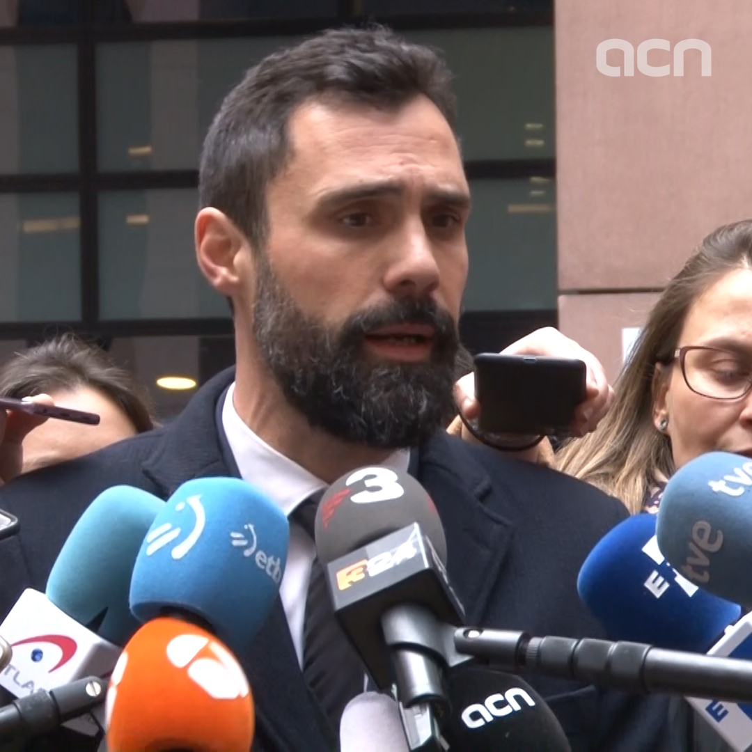 Roger Torrent says he is meeting with EU vice presidents over the Catalan issue