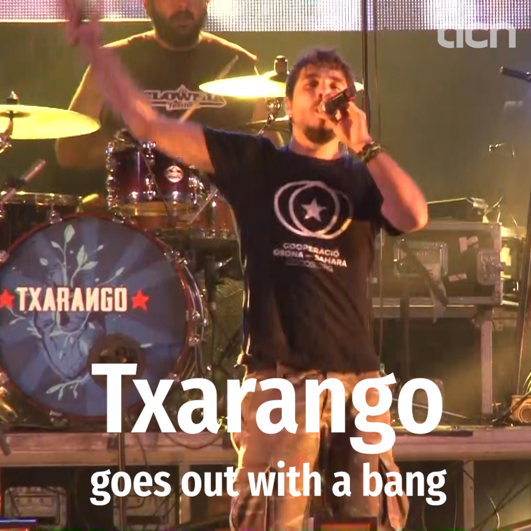 Txarango goes out with a bang