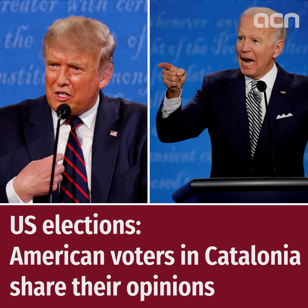 US elections: American voters in Catalonia share their opinions