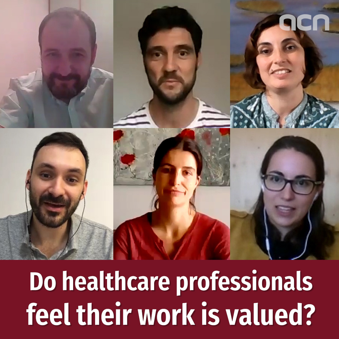 Do healthcare professionals feel their work is valued?