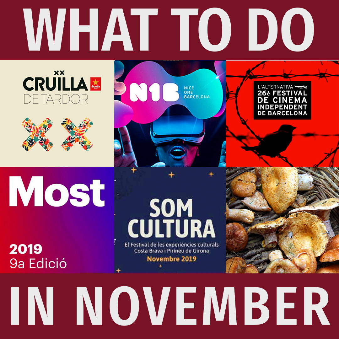 Film festivals, gaming, and mushrooms: What to do in Catalonia in November