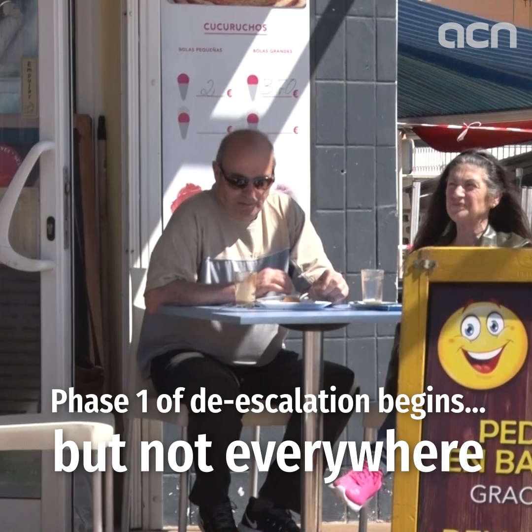 Phase 1 of de-escalation begins... but not everywhere