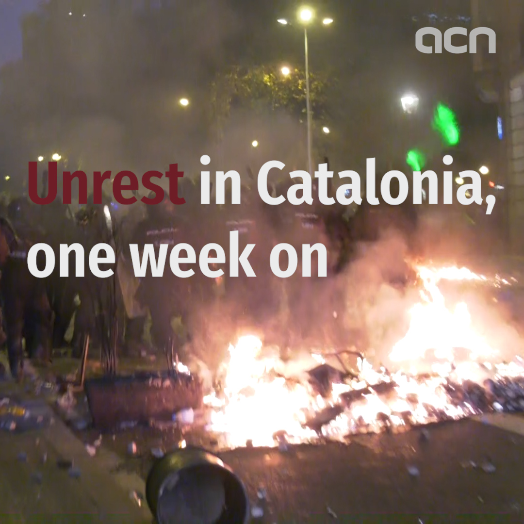 Unrest in Catalonia, one week on