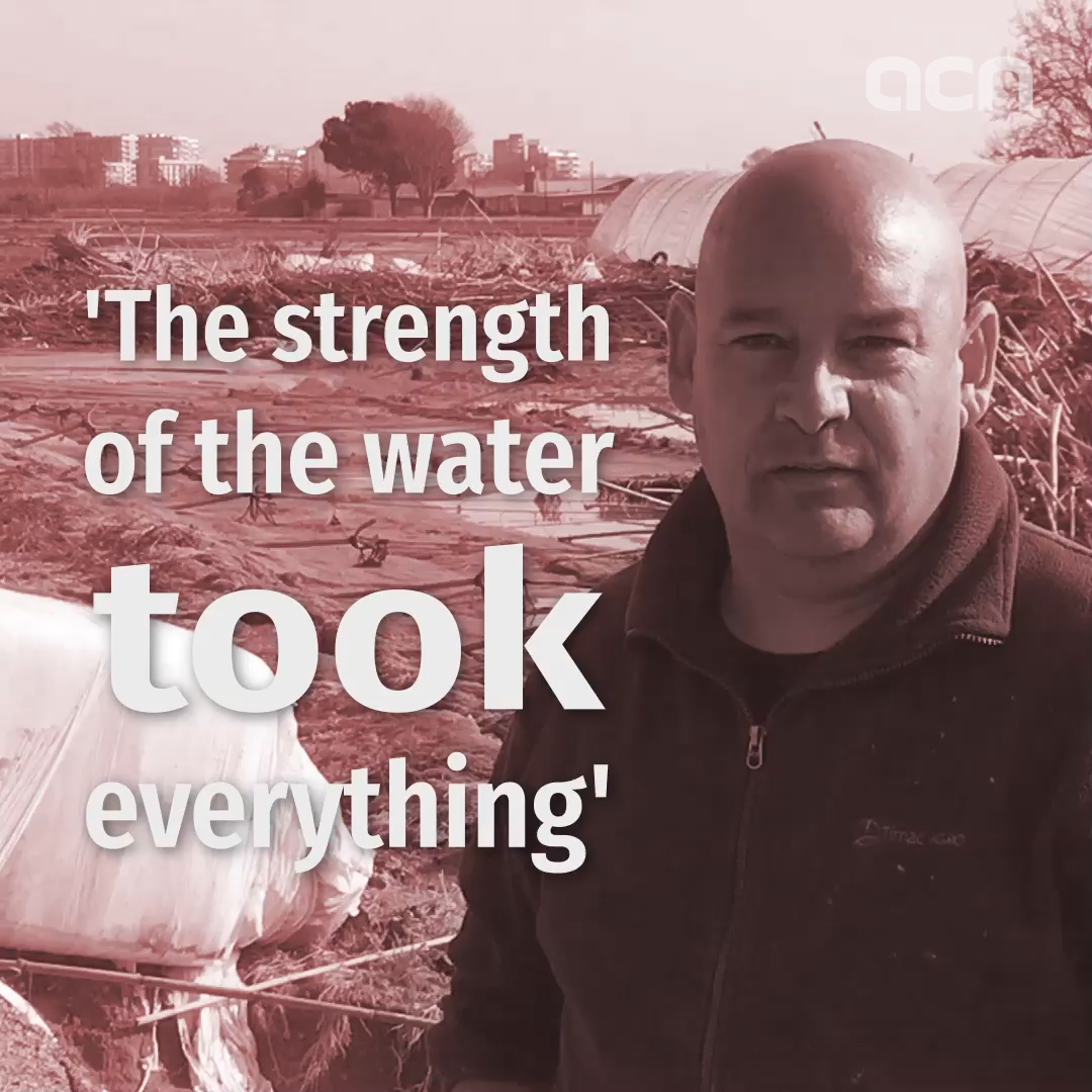 'The strength of the water took everything'