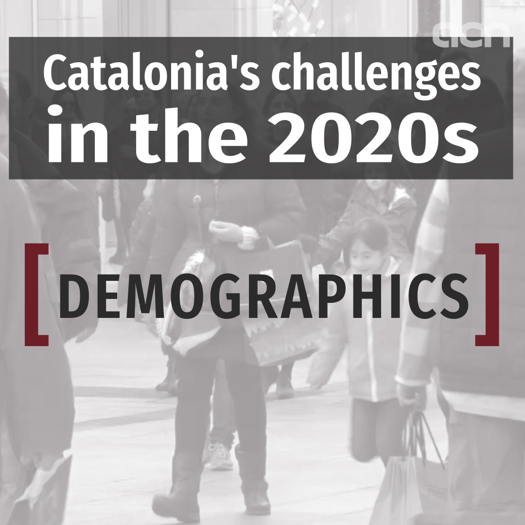 Catalonia's challenges in the 2020's: demographics