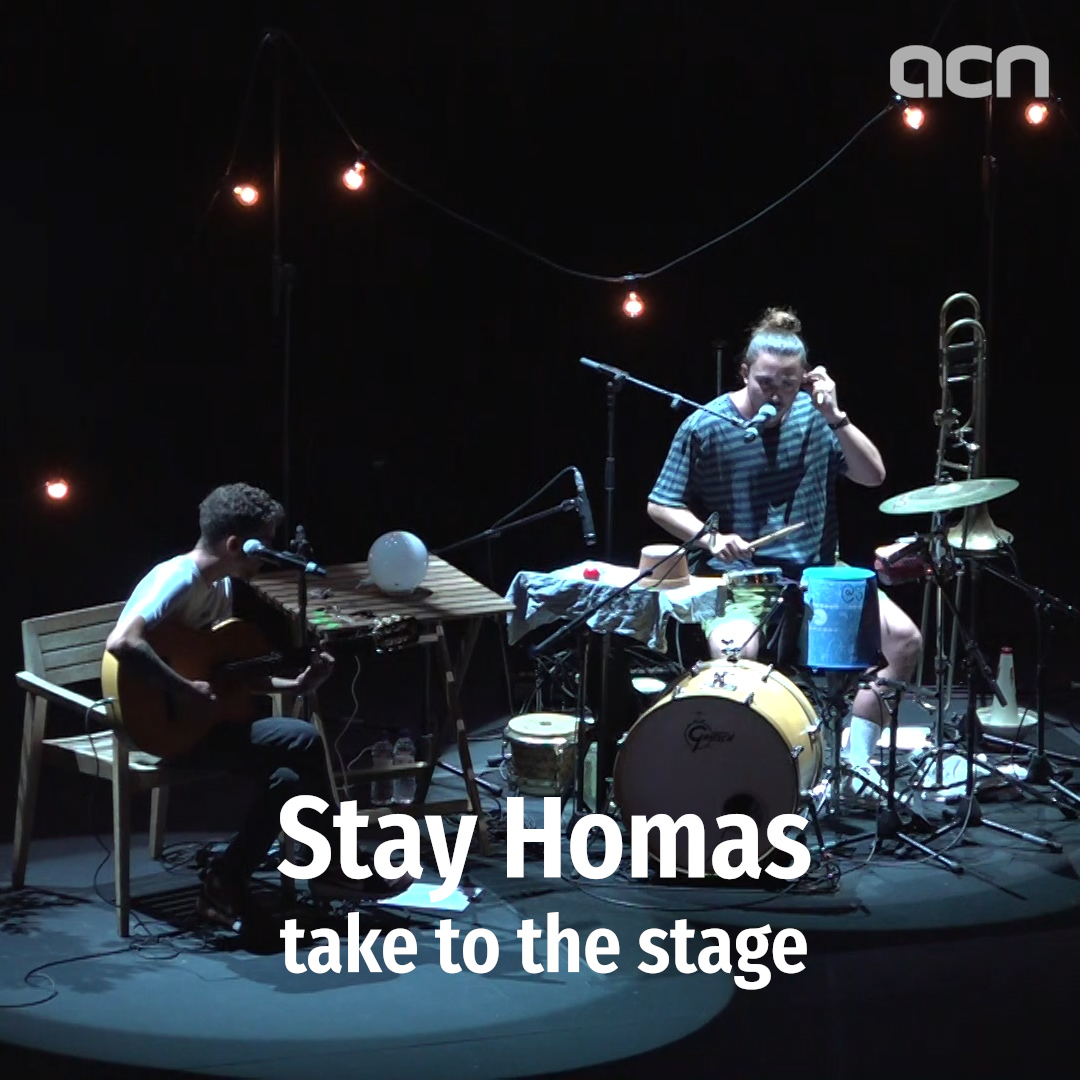 Stay Homas take to the stage