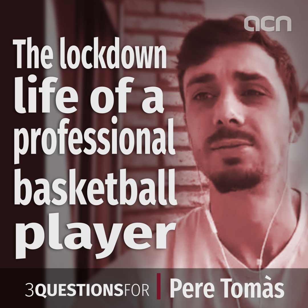 Lockdown life for a professional basketball player