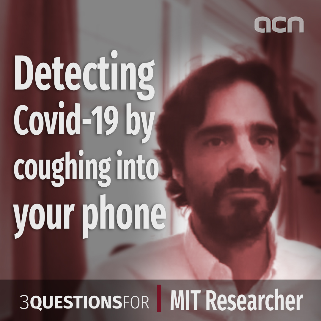 Detecting Covid-19 by coughing into your phone