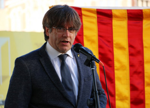 Former Catalan president Carles Puigdemont in Antwerp, Belgium on September 10, 2020 (by Natàlia Segura)