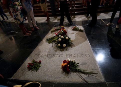Franco supporters still make pilgrimages to his tomb