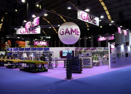 Stand of Barcelona Games World at Fira de Barcelona (by ACN)