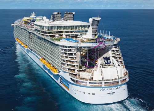 The 'Harmony of the Seas', the world's biggest cruiser ship (by Royal Caribbean)