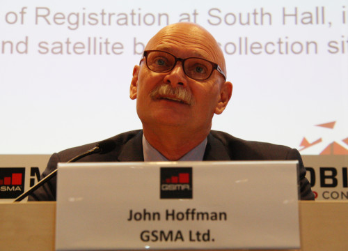 MWC's director and GSMA's CEO, John Hoffman (by ACN)