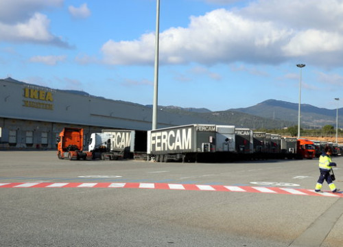 IKEA's logistic space in Valls on December 30 2016 (by Núria Torres)