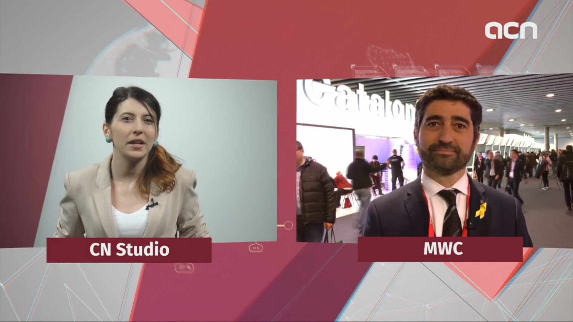 Catalan News interviews Jordi Puigneró, secretary of telecommunications at MWC 2018