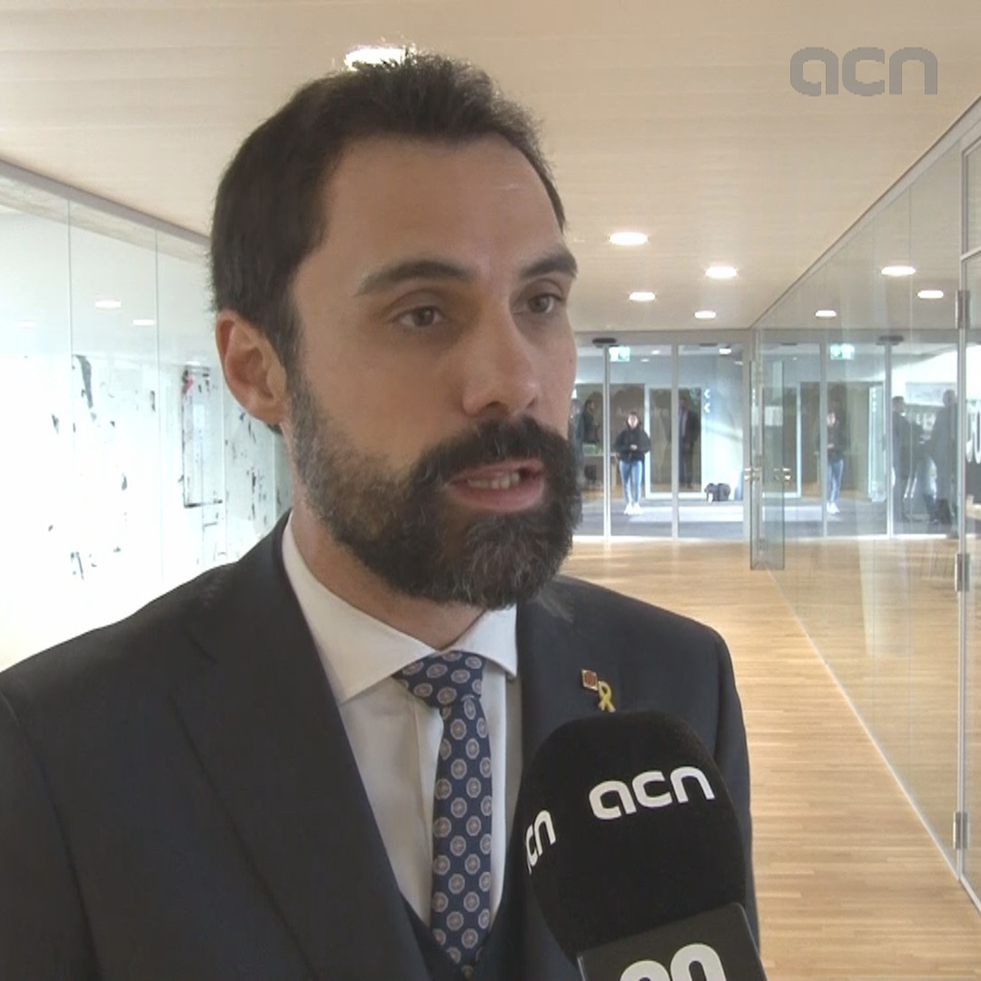 Roger Torrent: other parliaments 'don't understand why Forcadell's in prison'